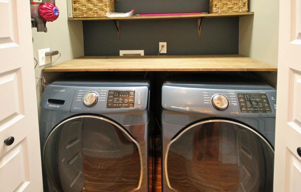 A high speed washer and dryer can be your best friend after a day on the trails.