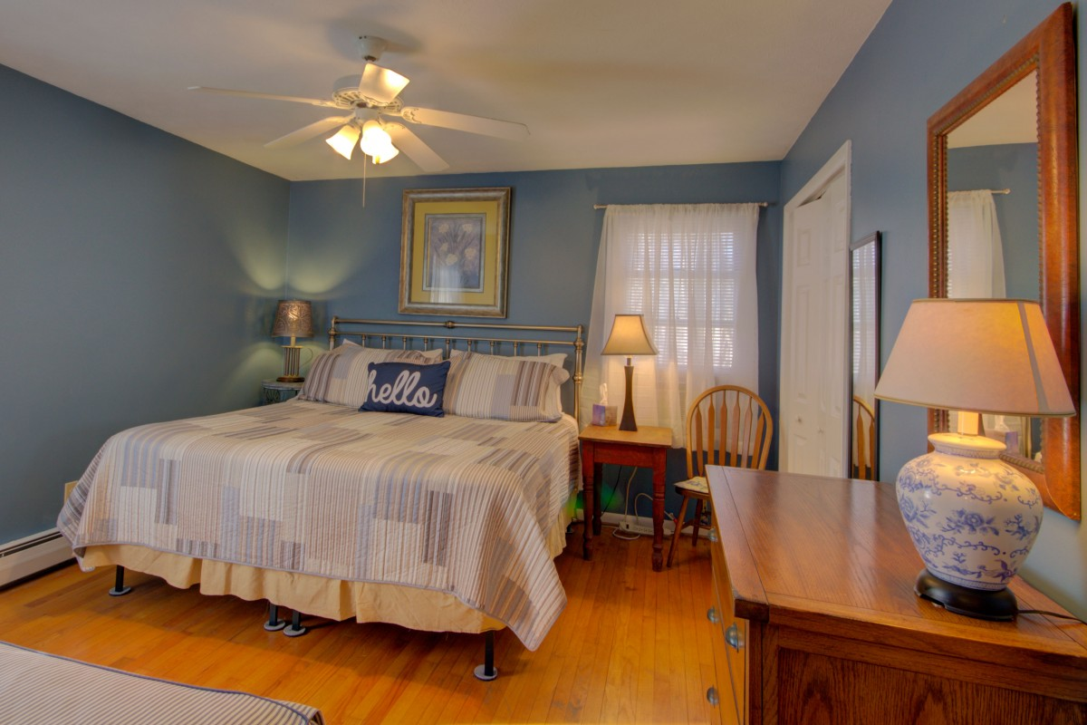 The Master bedroom features a King and a twin bed.