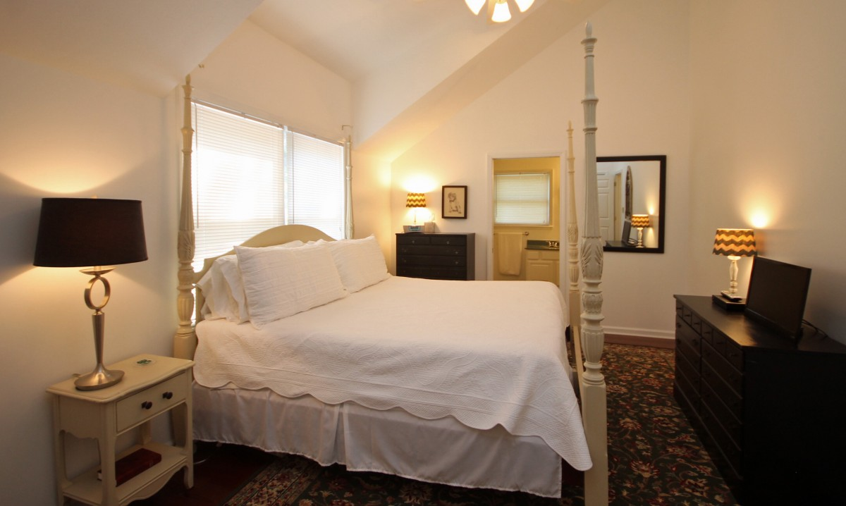 Welcome to the Carriage House, our beautiful two bedroom suite in the carriage house behind the historic Blake House.