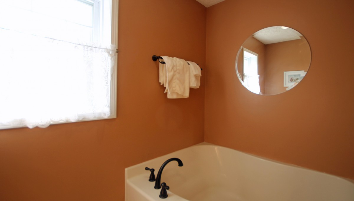 There is a big tub in the master bath where you can soak and relax.