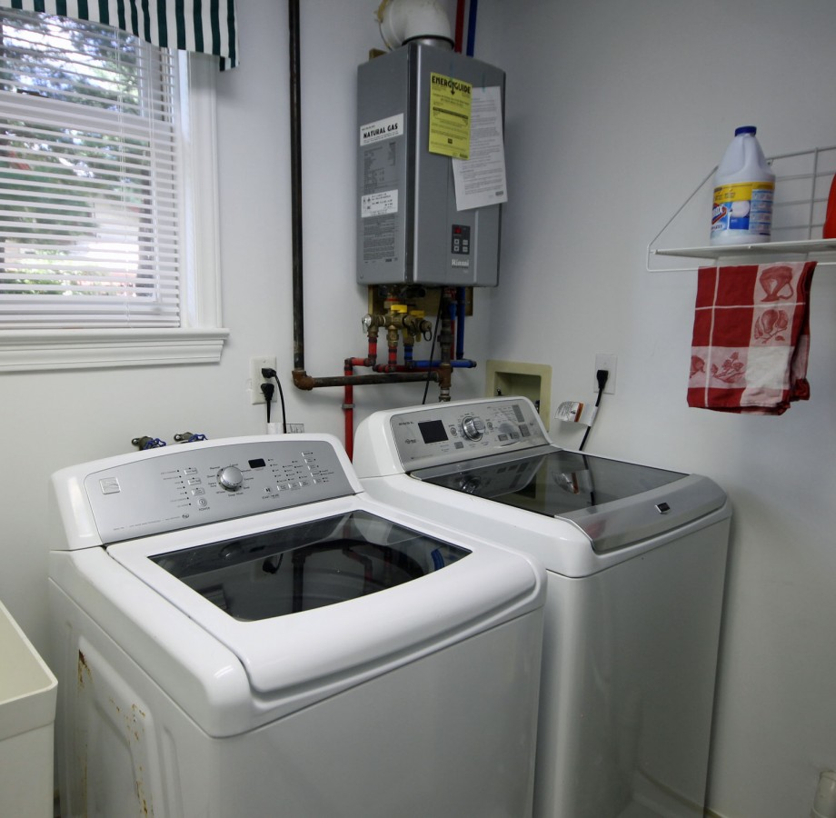 Please feel free to use the laundry facilities located just off the kitchen.