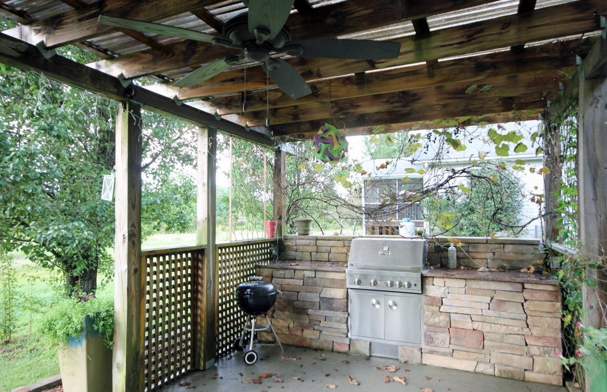 This is the place to be when you want to grill and enjoy the outdoors.