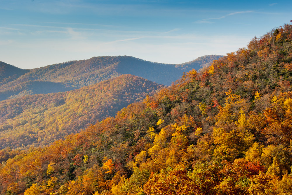 blue ridge parkway in asheville, nc